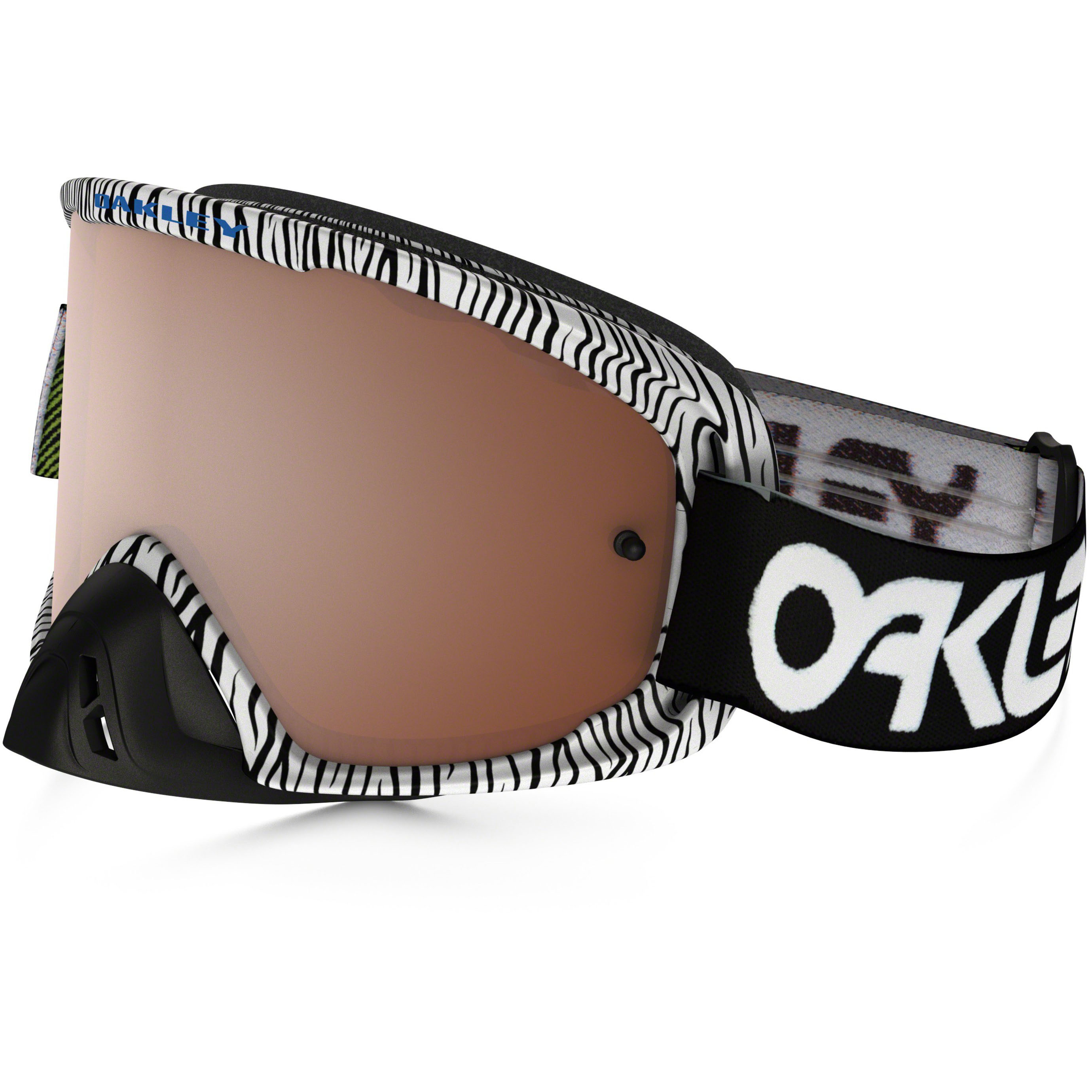 b17b971c9e8 Oakley Goggles O2 MX Factory Black White Bengal Black Iridium   Clear Lens